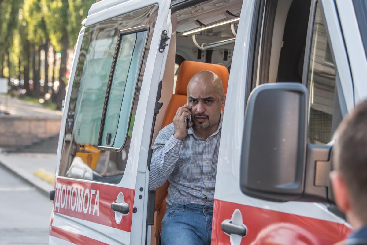 Найєма побили 30 квітня в центрі Києва / фото Інформатор