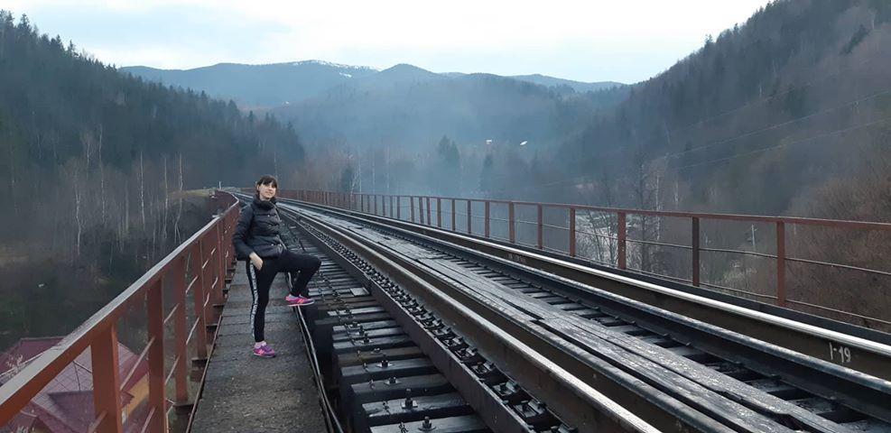Залізничний міст Яремче / Фото Юлія Корнійчук