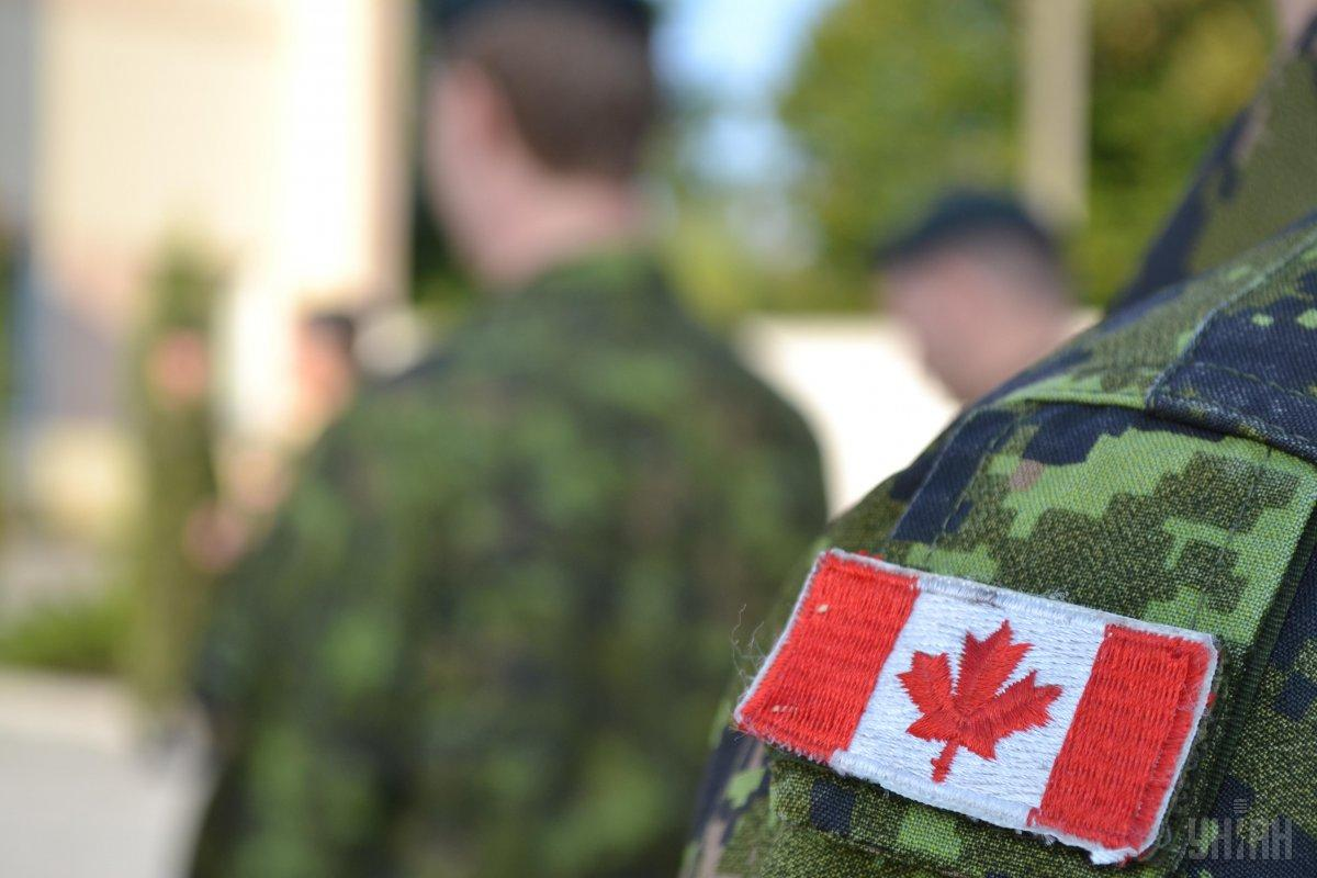 Canadian troops have trained almost 8,000 Ukrainian soldiers / Photo from UNIAN