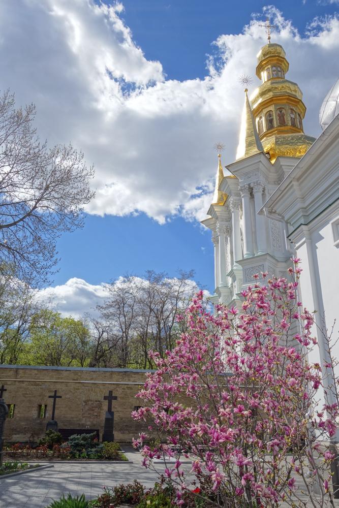 В Киево-Печерской лавре зацвели сады / lavra.ua