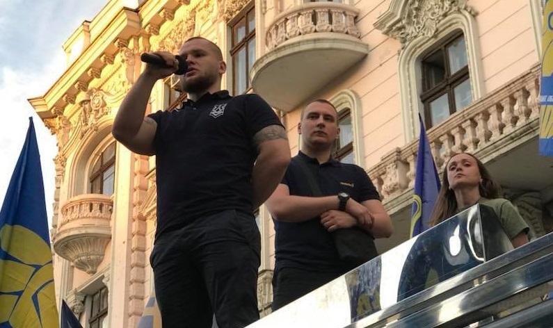 Национальный корпус- Одесса