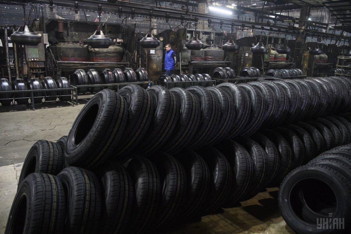 Крупнейший в Украине производитель шин закрывается / фото УНИАН