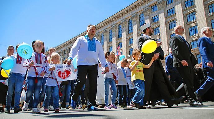 2 июня состоится всеукраинская шествие в защиту прав детей и семей / vrciro.org.ua