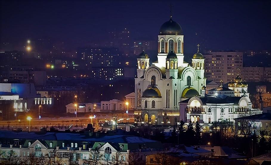 Храм-на-Крови стоит на месте расстрела Царской семьи/ ekaterinburg-eparhia.ru