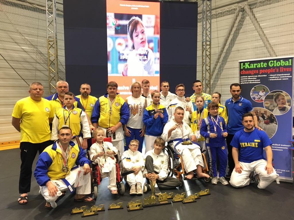 Українські каратисти вибороли 21 медаль в Будапешті / wkf.com.ua