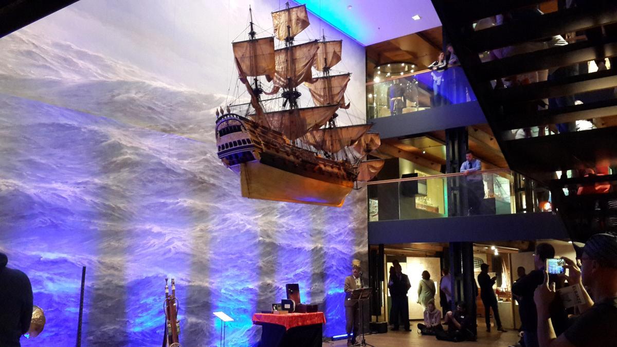 Стимпанк-поп концерт в Морском музее Гамбурга / Фото Марина Григоренко