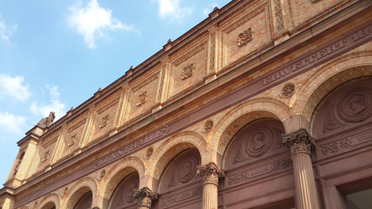 Главное здание Гамбургского кунстхалле / Фото Марина Григоренко
