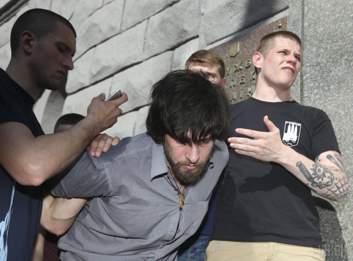 """СБУ открыла дело о задержании Лусварги, но дел против """"C14"""" не расследует / фото УНИАН"""
