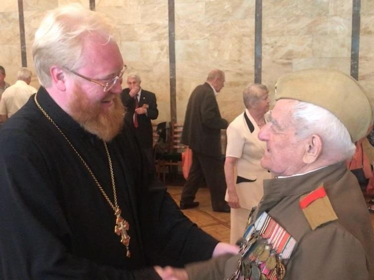 Одеська єпархія УПЦ привітала ветеранів з наступаючим Днем Перемоги / eparhiya.od.ua