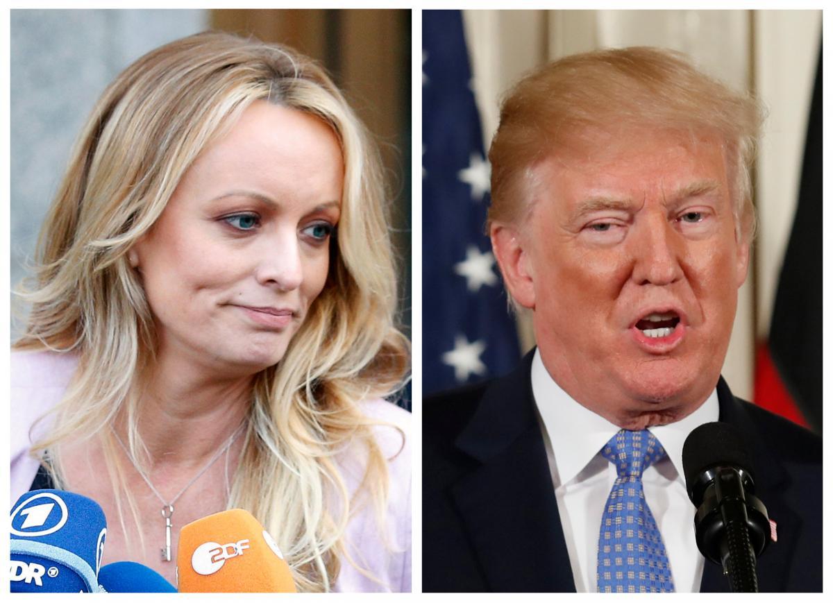 Стормі Деніелс і Дональд Трамп / REUTERS
