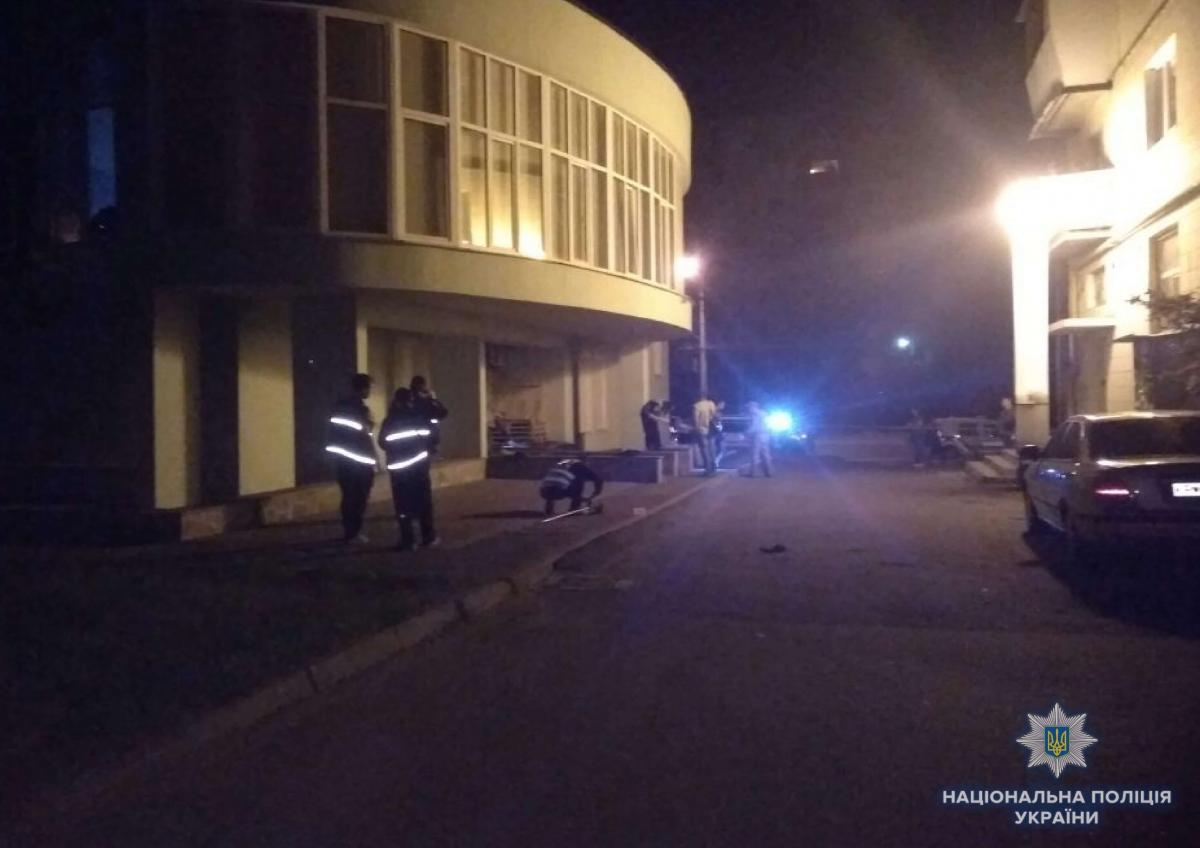 В полиции рассказали подробности ночного взрыва на столичном Подоле / фото kyiv.npu.gov.ua