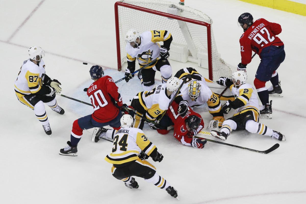 Кузнецов, Овечкин иОрлов вывели «Вашингтон» вфинал конференции НХЛ