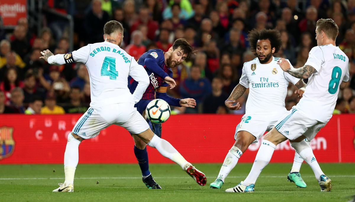 Барселона - Реал - 2:2 / REUTERS