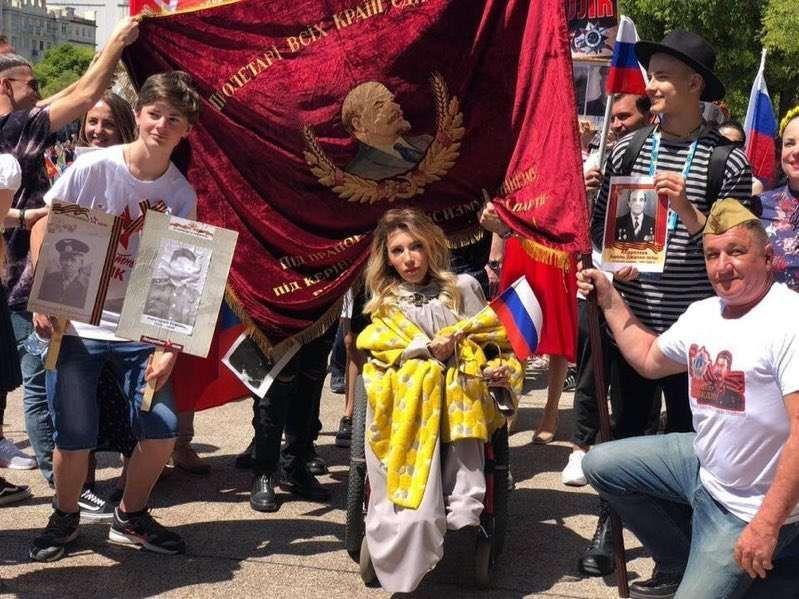 Самойлова хоче виїхати з Росії /фото twitter.com/golub