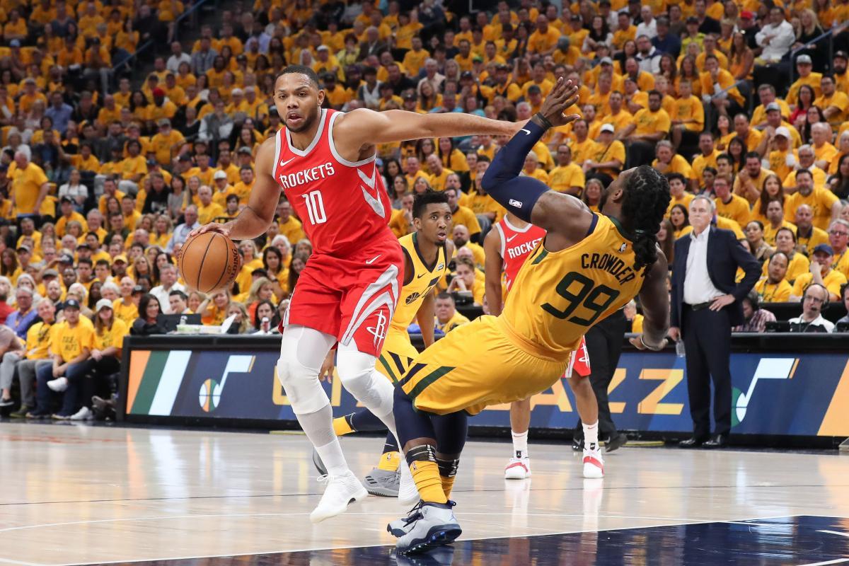 «Хьюстон» обыграл «Юту» ивышел вперед всерии плей-офф НБА