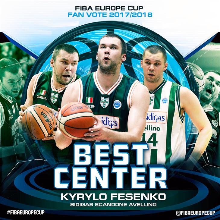 Кирилл Фесенко признан лучшим центровым Кубка / fibaeurope.com