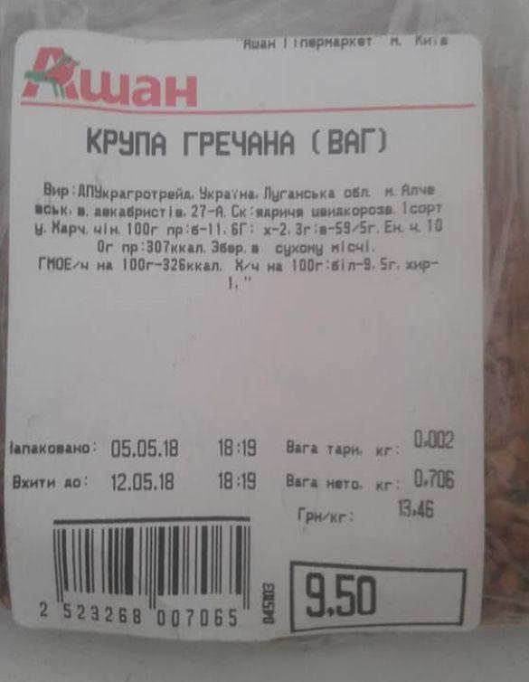 Краснов обратил внимание на приобретенный товар / фото Facebook/Станислав Краснов