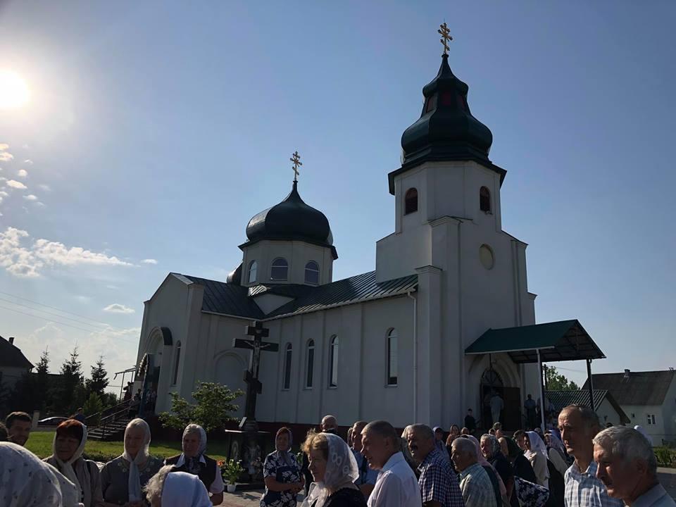 На Закарпатье освятили новый храм УПЦ / m-church.org.ua