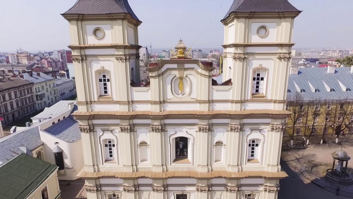 Архікатедральний собор Воскресения Христова УГКЦ в Ивано-Франковске / YouTube