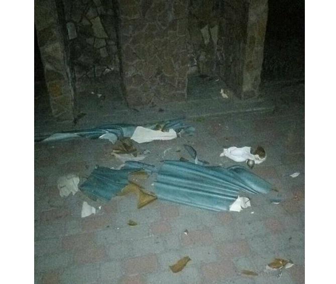 18-летний парень повредил церковное имущество / Патрульная полиция Украины