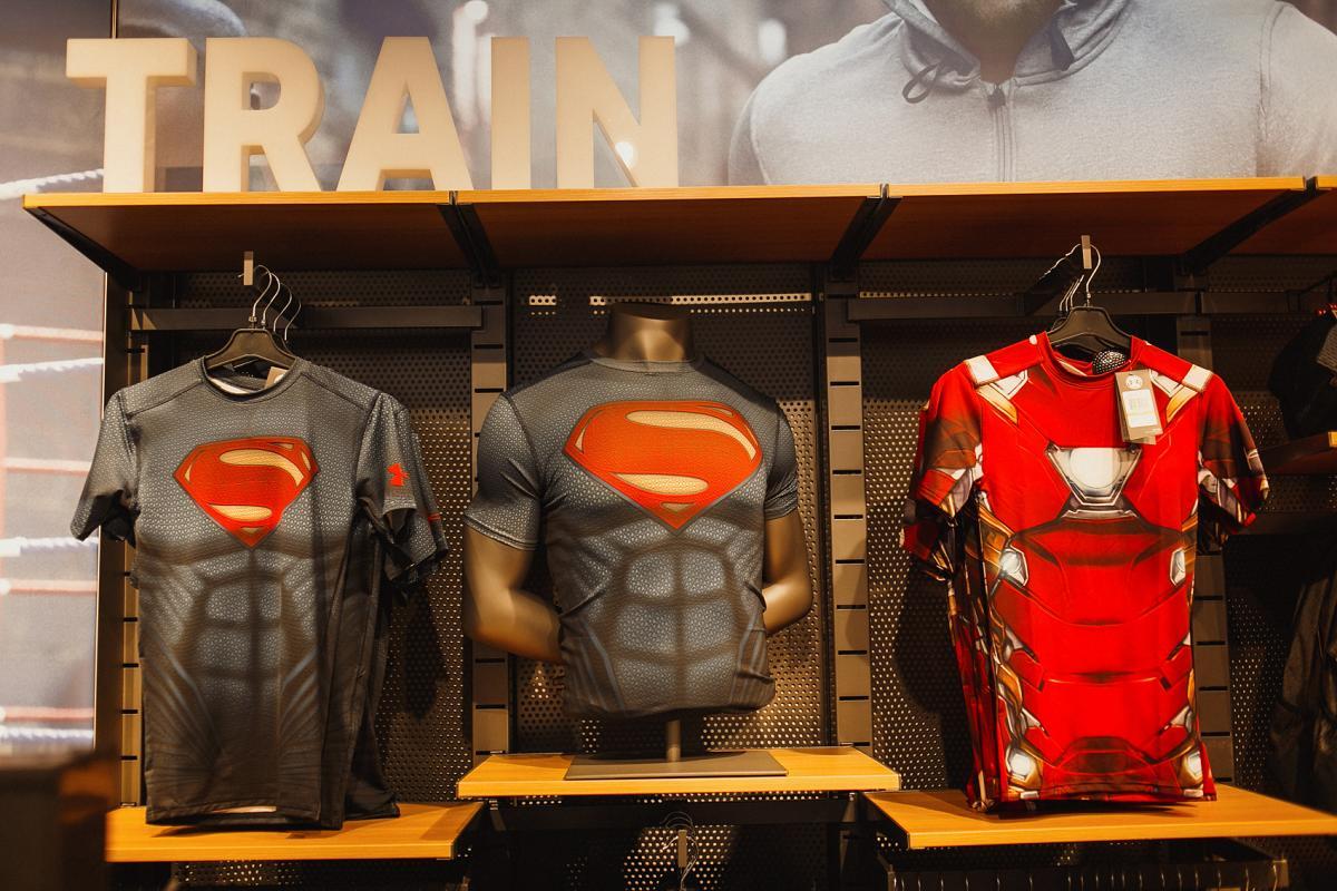 430762ed Экспансия бренда Under Armour распространилась на новый торговый центр! |  УНИАН