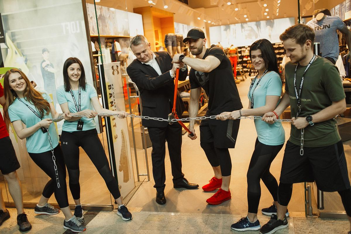 307af84a Экспансия бренда Under Armour распространилась на новый торговый центр!