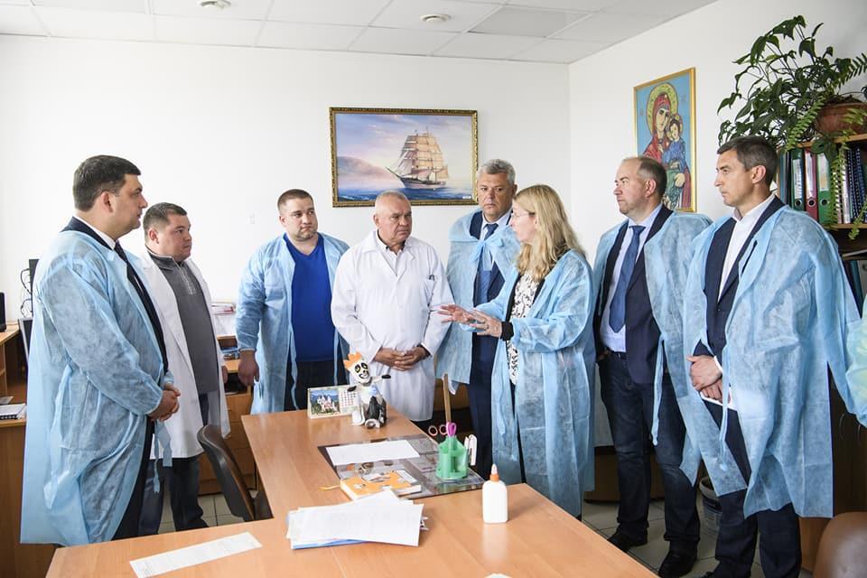 Супрун рассказала о ситуации с отравлением в Черкассах / Facebook - Volodymyr Groysman