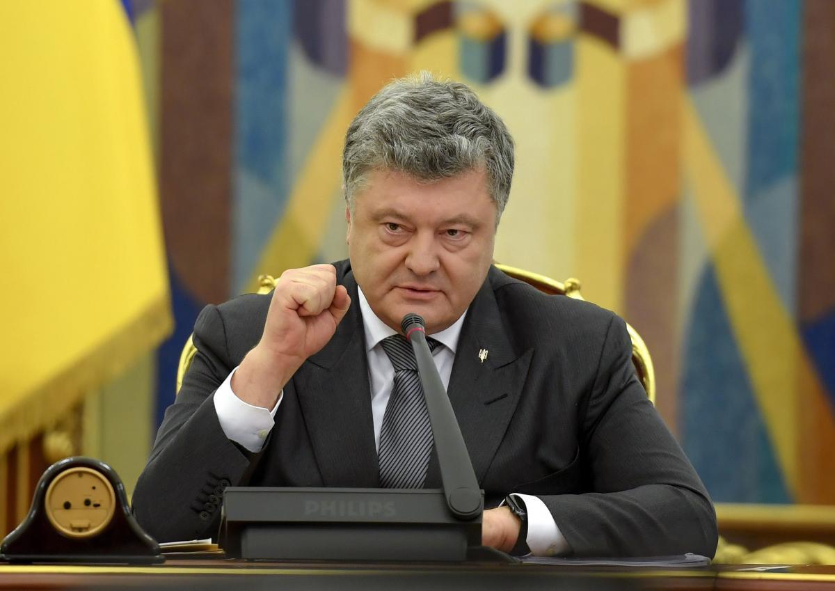 Президент Петр Порошенко / REUTERS