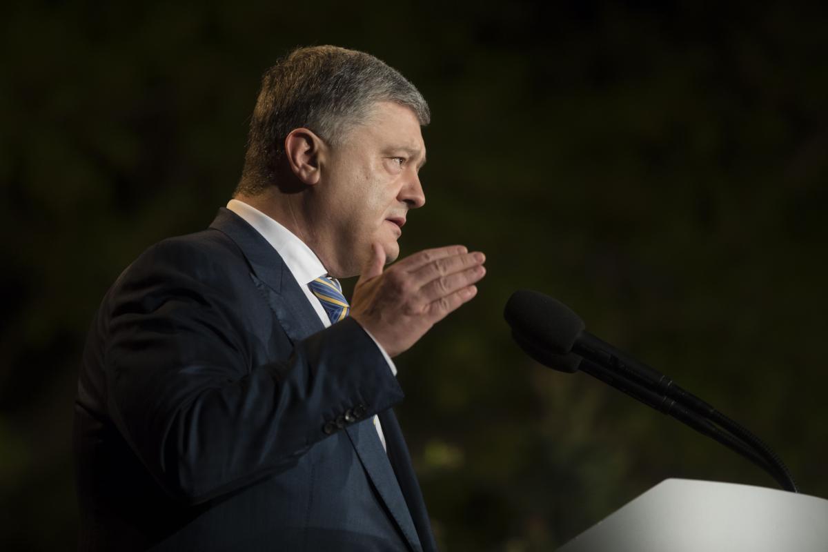Порошенко попросил извинения, что в 2014 году подал надежду завершить АТО за считанные часы / фото president.gov.ua