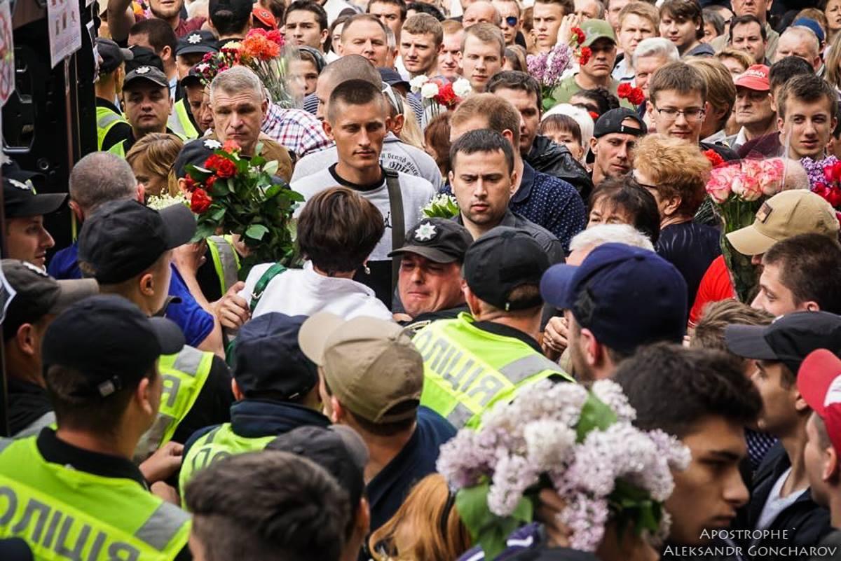 Photo from Oleksandr Honcharov, apostrophe.ua