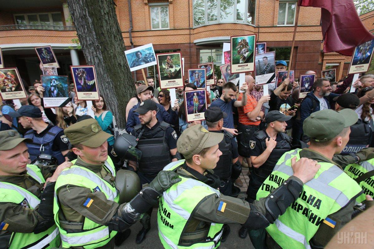 Правоохранители задержали семерых человек во время массовых мероприятий / фото УНИАН