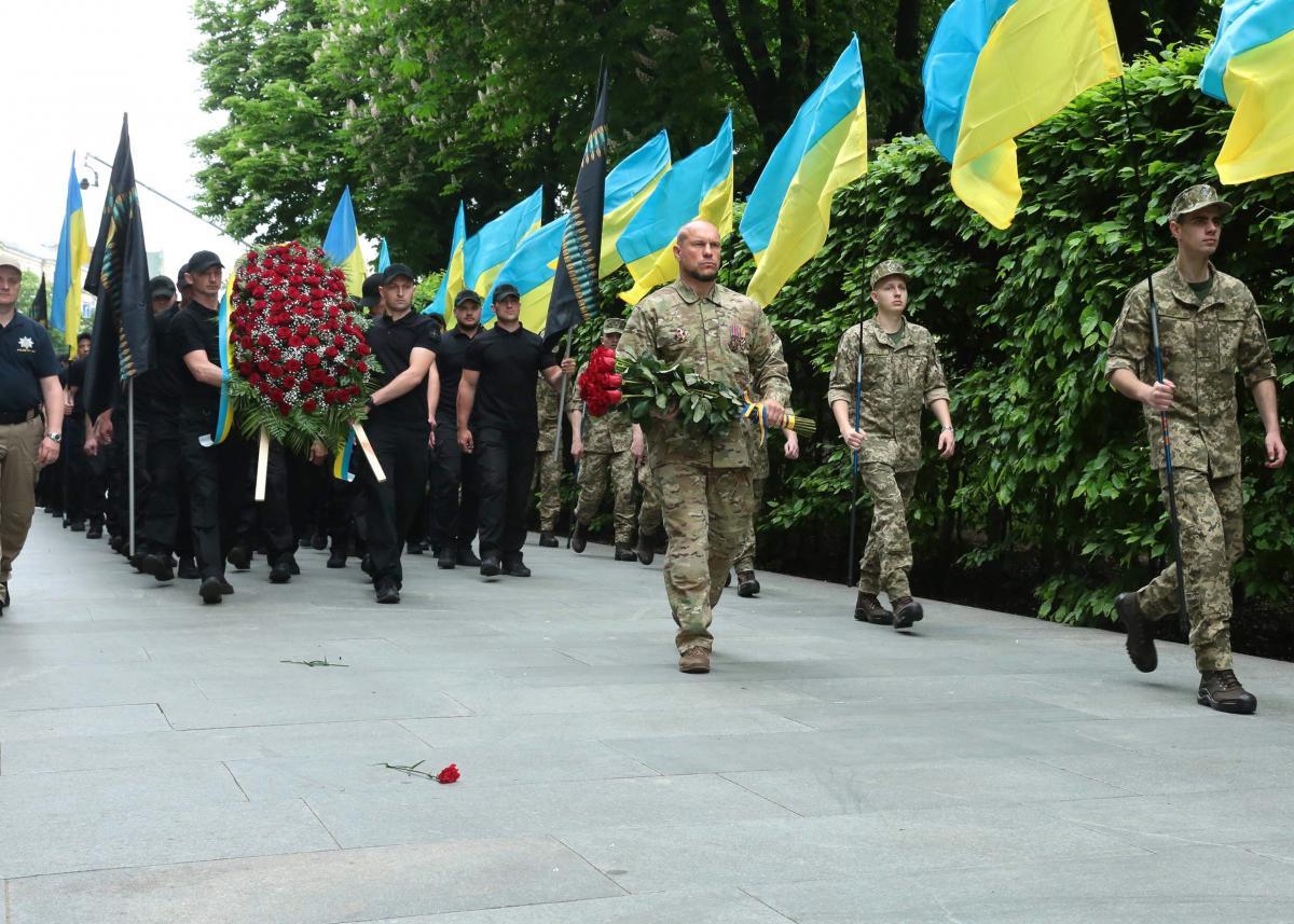 Кива отметил, что пример ветеранов Второй мировой служит хорошим стимулом для украинских солдат / фото socpartia.com