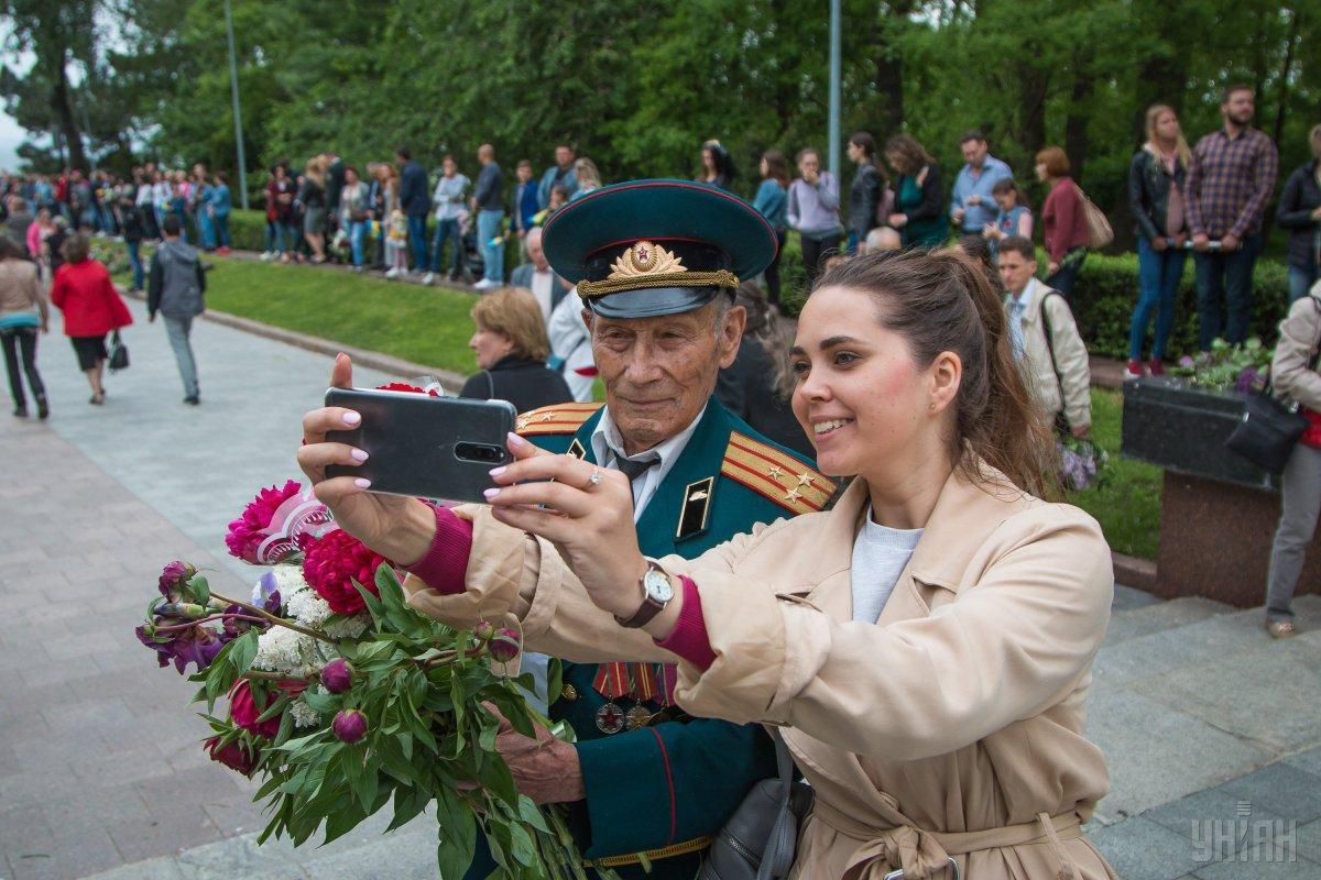 В Украине празднуют День победы над нацизмом во Второй мировой войне / УНИАН