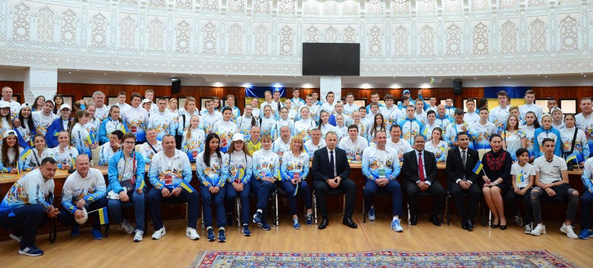 ные спортсмены впервые выиграли Всемирную летнюю Гімназіаду / КФВС МОН Украины