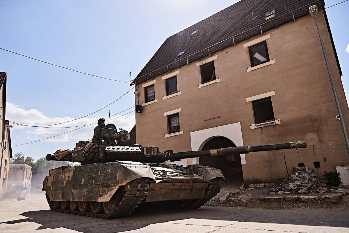 Украинские танкисты дали хороший учебный бой партнерам по НАТО / Министерство обороны Украины