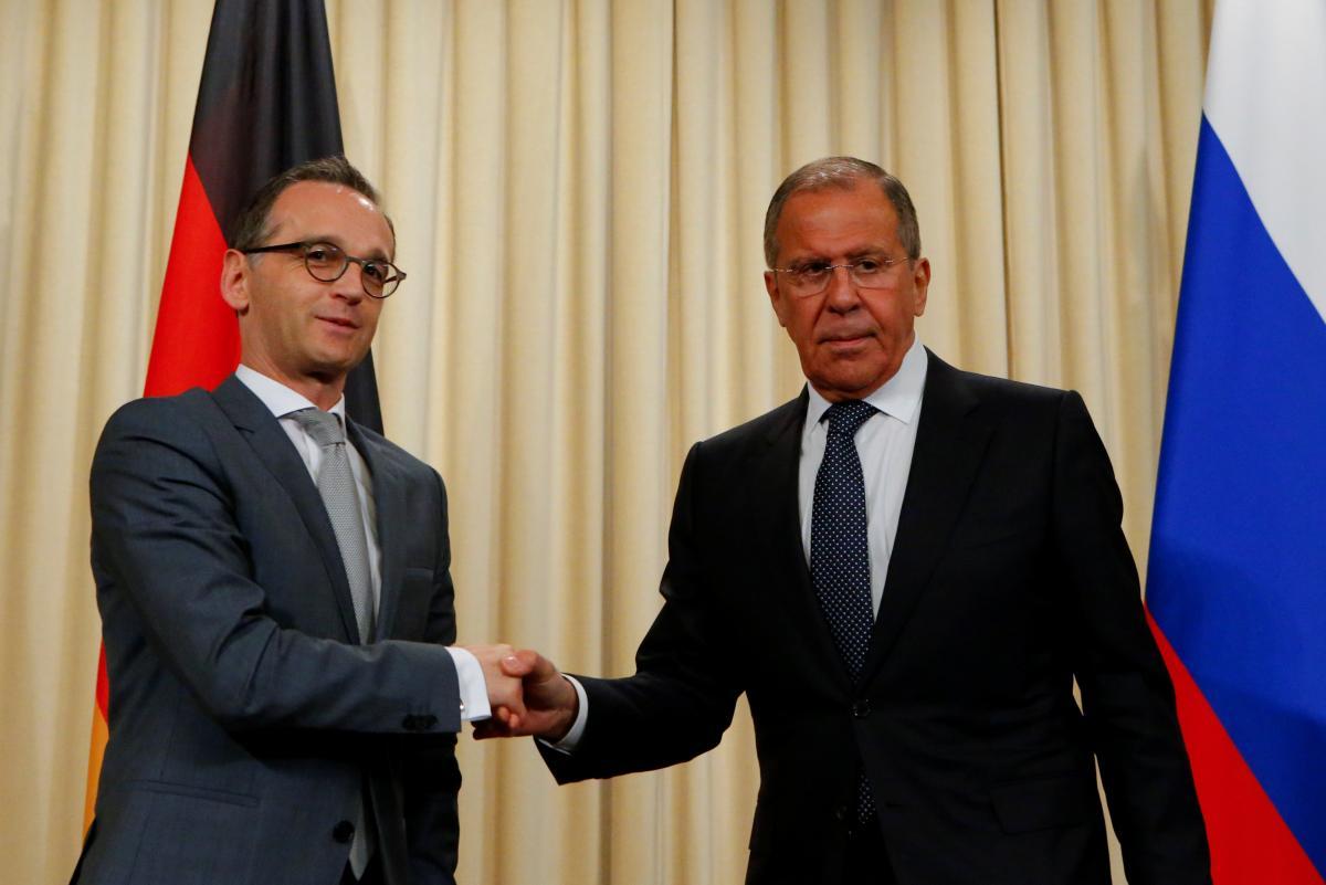 Хайко Маас и Сергей Лавров / REUTERS