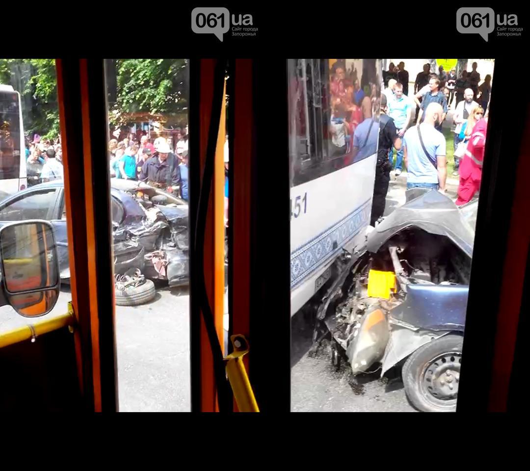 В результате ДТП есть пострадавшие / фото 061.ua