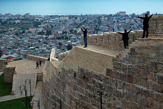 Вчені мають намір з'ясувати, для чого було побудовано приміщення фортеці Нарин-кала / etokavkaz.ru