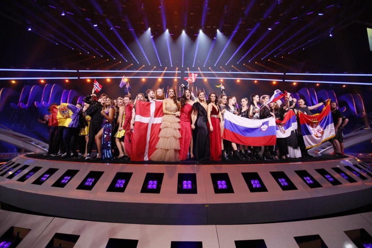 Триумфаторы второго полуфинала Евровидения-2018 / фото Andres Putting