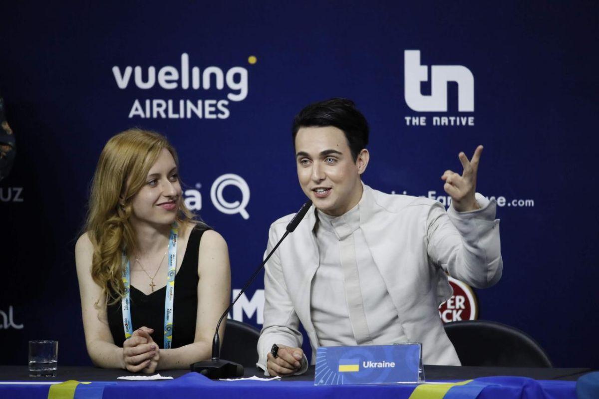 Melovin на прес-конференції після виступу на Євробаченні / Andres Putting