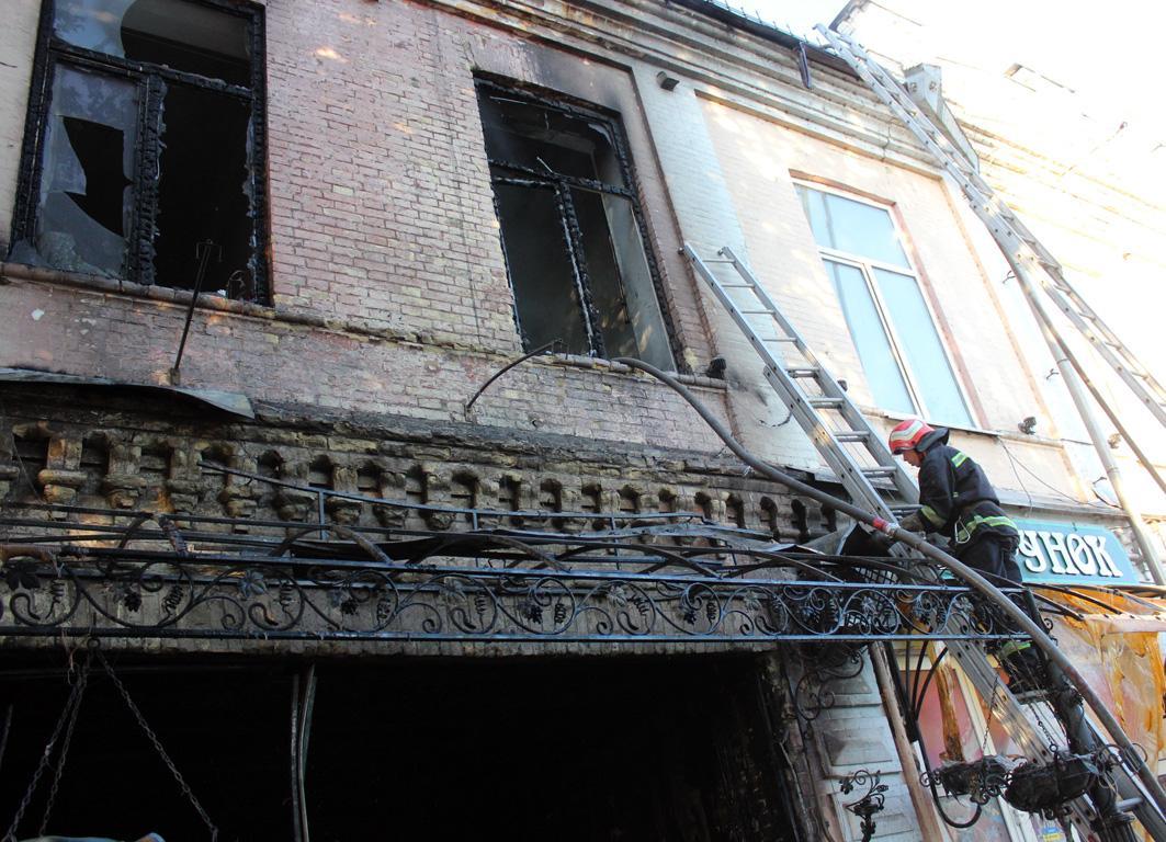Посетитель игорного заведения погиб, еще один посетитель и охранник госпитализированы / Фото ck.dsns.gov.ua