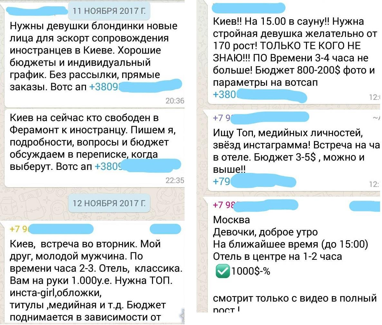 Интимные услуги оценивались в сумму от $500 до 10 тысяч. Около 30% вознаграждения девушки отдавали сутенеркам / Фото npu.gov.ua