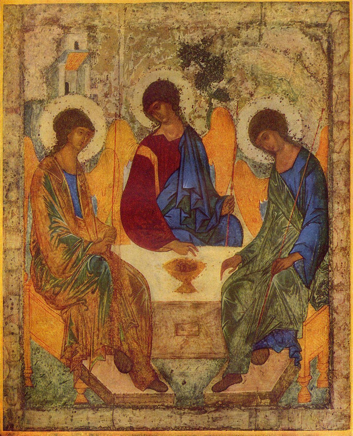 В этот день верующие вспоминаютсошествие Святого Духа на апостолов / fr.wikipedia.org