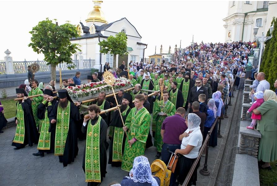 В Почаевской обители начались празднования обретения мощей преподобного Амфилохия / pochaev.org.ua