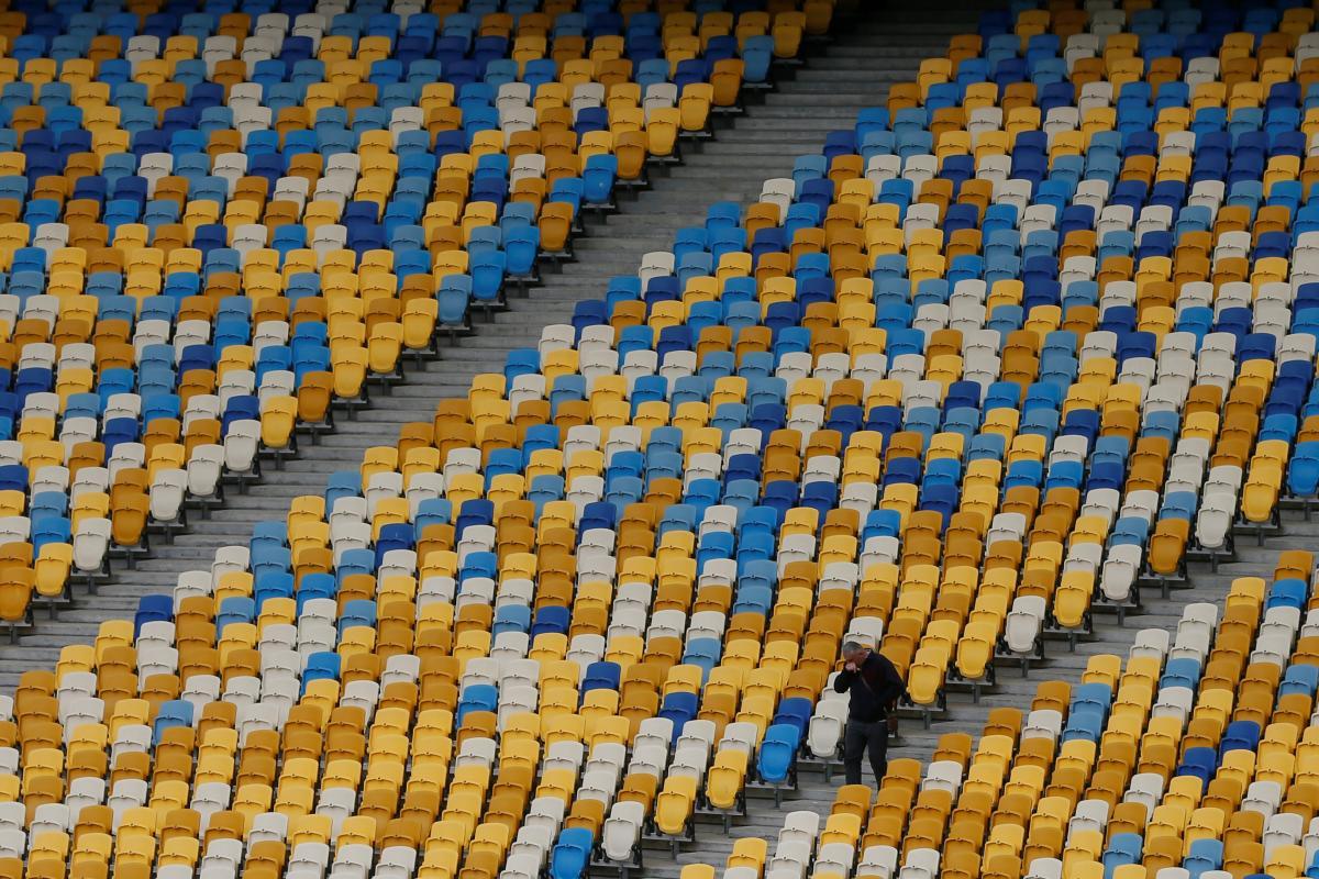 Трибуни НСК Олімпійський / фото REUTERS
