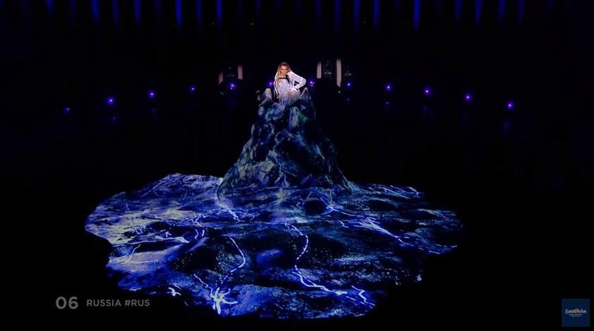 Самойлова на попала в финал Евровидения-2018 / Скриншот