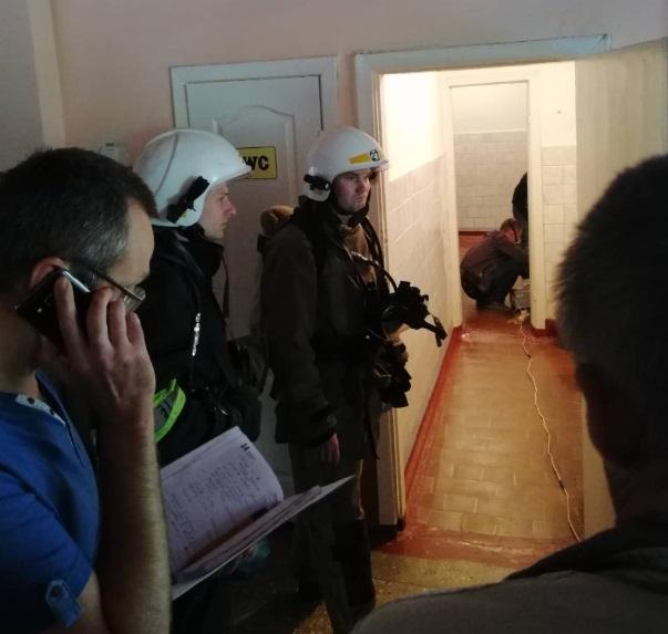 ВУкраинском государстве из-за распыления неизвестного вещества эвакуировали 680 человек