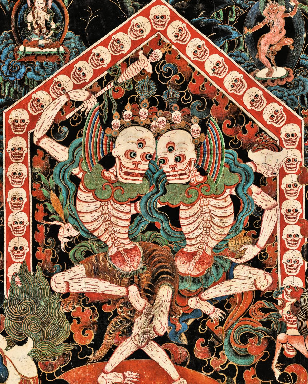 Фотограф сделал 998 копий древних тибетских фресок / theguardian.com