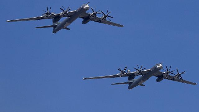 Американские военные самолеты перехватили российские бомбардировщики у побережья Аляски / РИА Новости / Антон Денисов