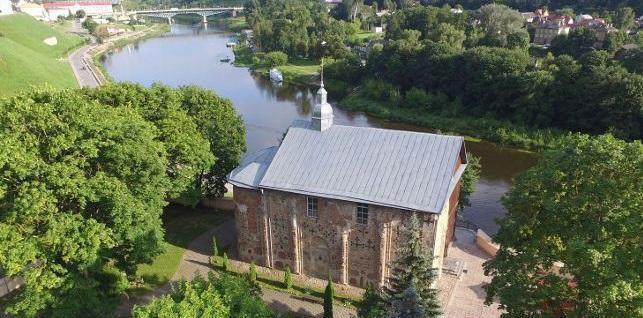 Свято-Борисо-Глебська (Колозька) церква - візитна картка Гродно / belta.by